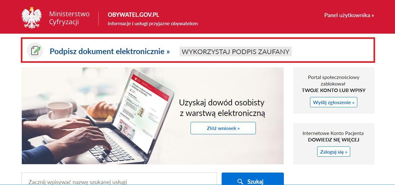 podpis ePUAP